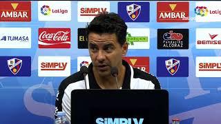 Rueda de prensa de Míchel tras el SD Huesca vs Rayo Vallecano (2-1)