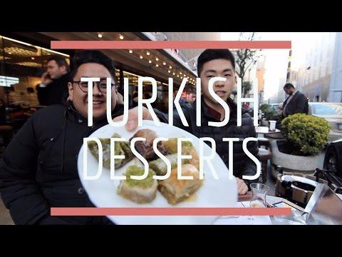 "Turkish Desserts ""Savory Künefe and a BAKLAVA BURGER?!"""