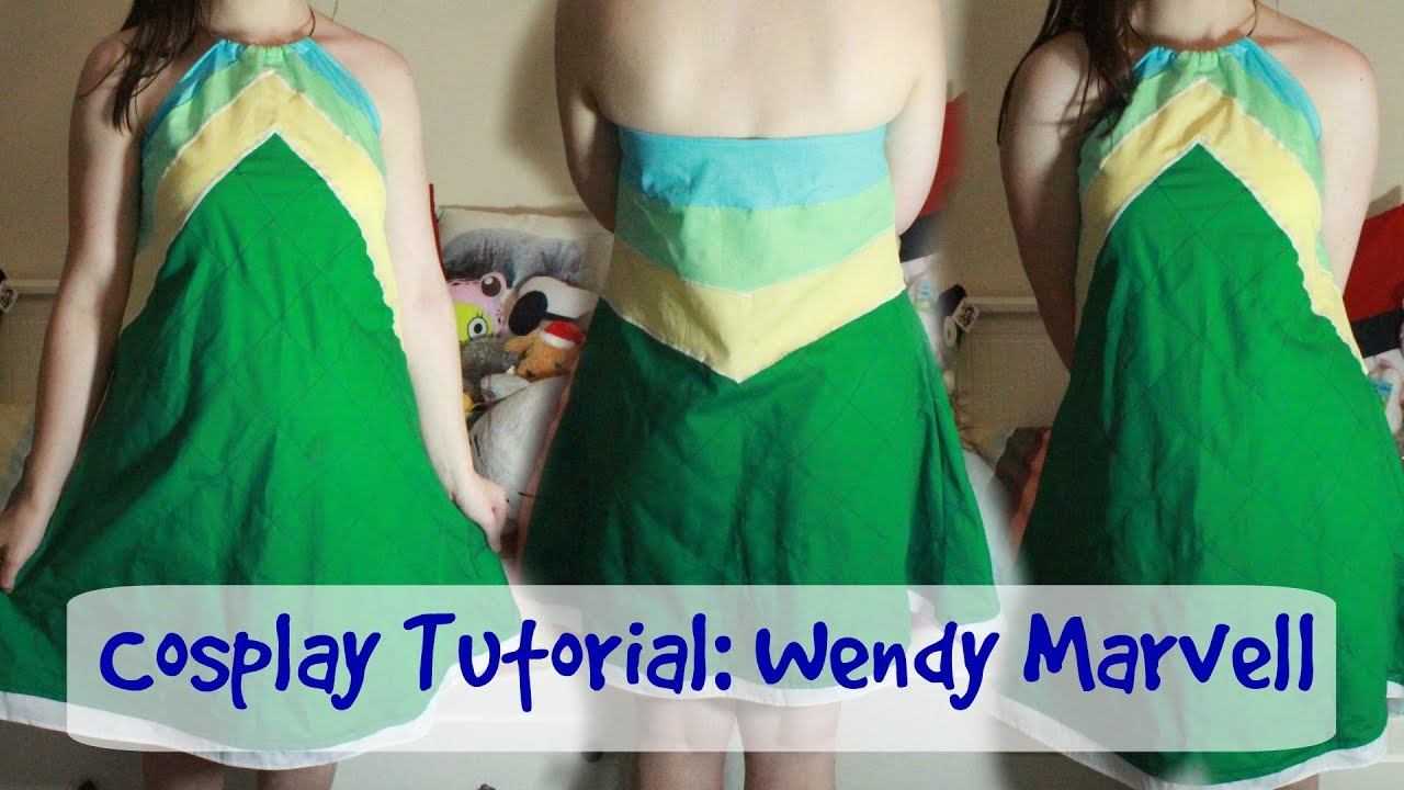 Cosplay tutorial fairy tail wendy marvell outfit 2 youtube cosplay tutorial fairy tail wendy marvell outfit 2 solutioingenieria Images