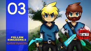 Fallen Kingdoms 2 : Poison Paradise | Banano & JulienS3 | Jour 3 - Minecraft