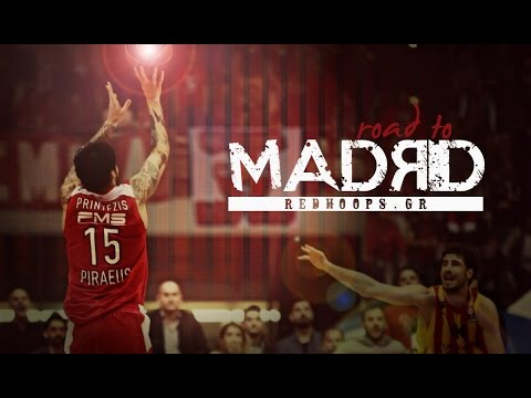 Olympiacos BC - The Road To Madrid
