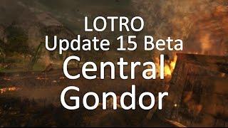 LOTRO Update 15 Beta - Central Gondor Landscape Preview