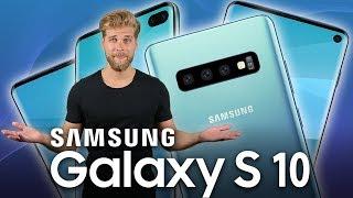Galaxy S10 mit Loch im Display?! Alle Gerüchte im Check!