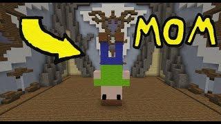 Minecraft Build Battle: Upside Down Challenge!