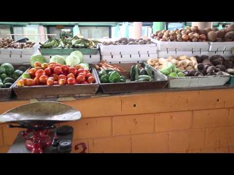 Antigua Saint John's Marché traditionnel / Antigua Saint John's Traditional market