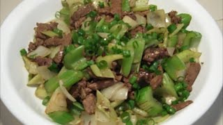 Celery Beef Stir Fry