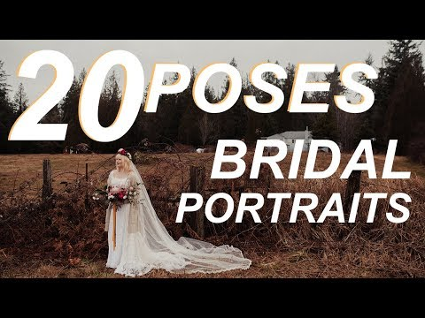 20 Tips + Poses For How To Photograph A Bride | Wedding Photography Tutorial