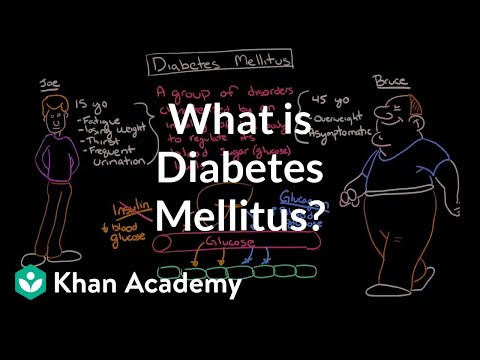 What is diabetes mellitus? | Endocrine system diseases | NCLEX-RN | Khan Academy