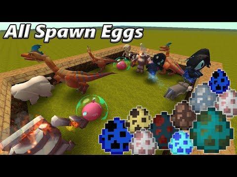 Mini World All Mobs (Spawn Eggs)