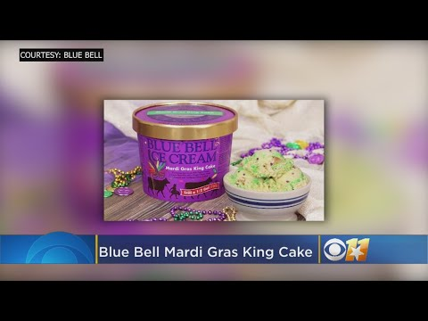 Blue Bell Releases 'Mardi Gras' Ice Cream Flavor To All