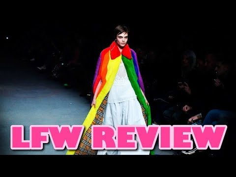 DID BURBERRY USE THE LGBT COMMUNITY FOR PROFIT?! (London Fashion Week Fall 2018 Review)