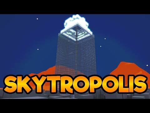 Skytropolis Gameplay Impressions - Build and Manage A Huge Towering City!