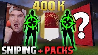 ASSURDO! IF WALKOUT + 400 MILA CREDITI con SNIPING e PACK OPENING!!! - FIFA 18 ULTIMATE TEAM