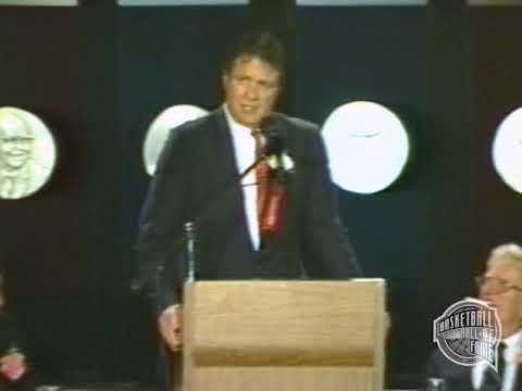 "Thomas W. ""Tommy"" Heinsohn's Basketball Hall of Fame Speech"