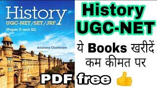 History UGC-NET SET JRF Paper 2 amp 3 PDF Book review English medium