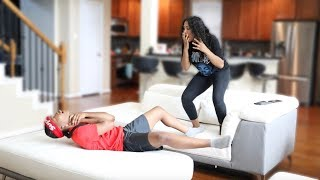 DEADLY ALLERGIC REACTION PRANK ON GIRLFRIEND!!
