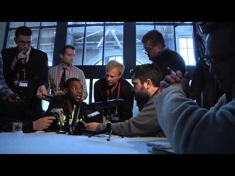 2014 NFL Combine: Mizzou RB Henry Josey Interview