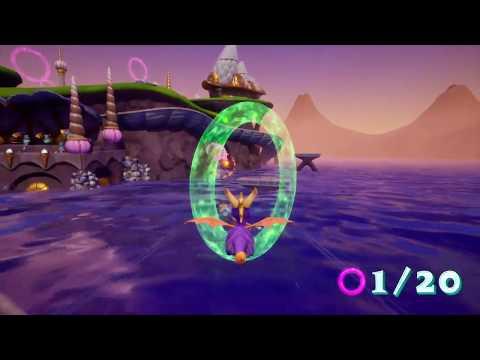Spyro Reignited Trilogy - Ripto's Rage - Ocean Speedway 100% Complete