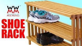 Shoes Cluttering Up Your Home? Get Organized With This Shoe Rack.