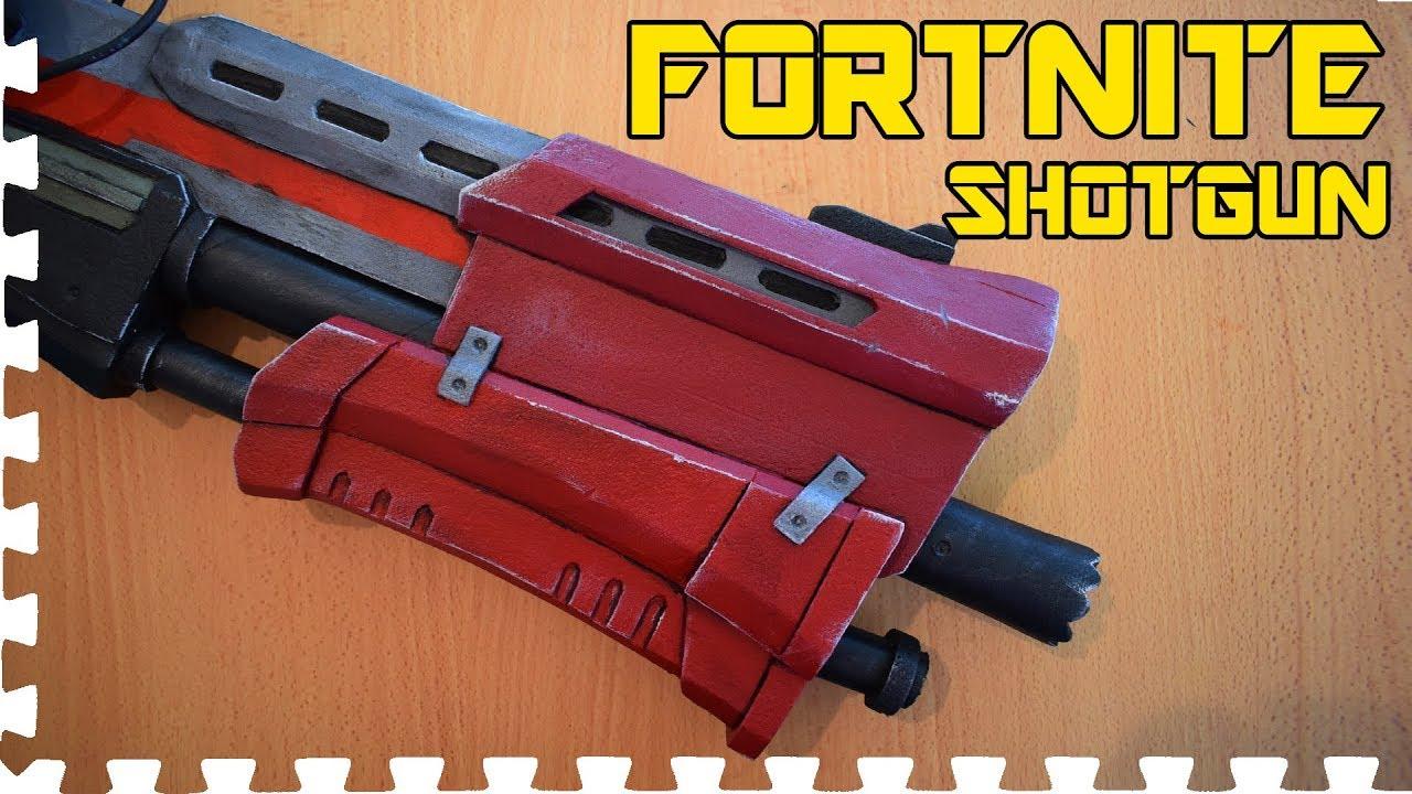 Fortnite Tactical Shotgun Cosplay Prop Youtube