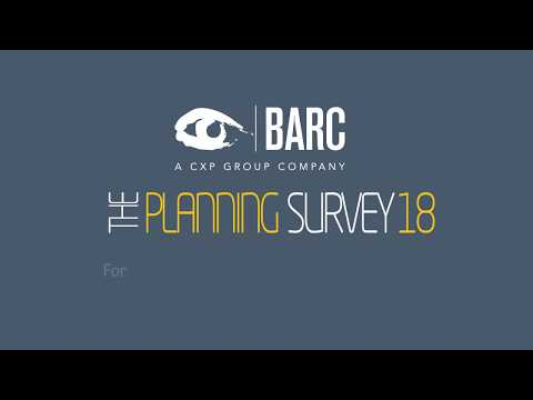 IBM Planning Analytics: Highlights from the BARC Planning Survey 18