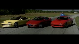 MotorWeek | Retro Review: '90 300ZX Turbo Vs. RX-7 Turbo II Vs. MR2 Turbo