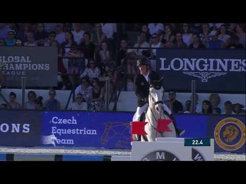 Gerco Schröder a Glock´s Cognac Champblanc – 155/160 cm – Videa Berlin Lions z GCT 2017 v Cannes