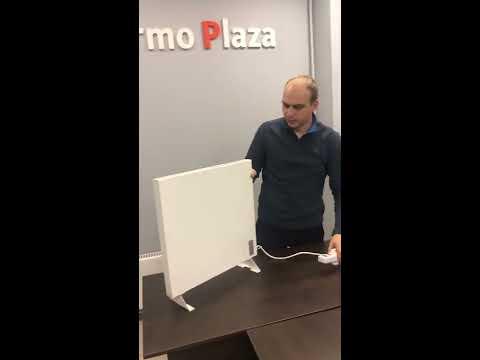 Обогреватель TermoPlaza в России. Демонстрация и общие характеристики продукта.