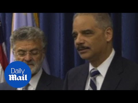 Holder says Cleveland police use excessive force - Daily Mail