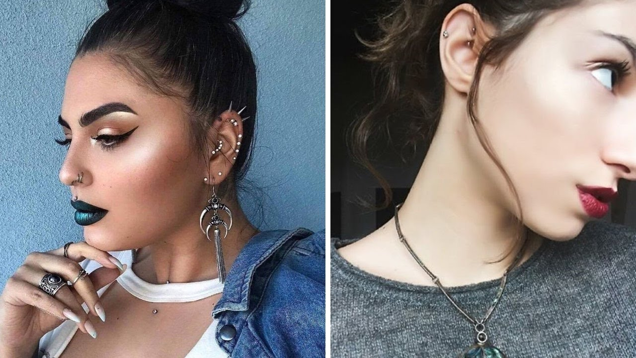 Top 15 Different Types Of Ear Piercings Youtube