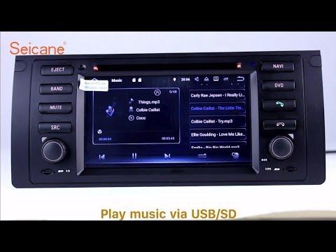 Aftermarket Radio 2002 2003 2004 Land Rover Range Rover Bluetooth DVD GPS  Stereo Upgrade