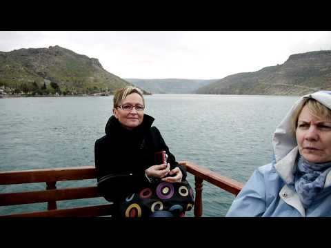 Comenius-Boat-Trip on Euphrates-Lake near Halfeti