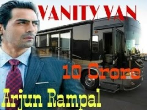 Bollywood Star Arjun Rampal VANITY VAN in DALTONGANJ Shooting movie NASTIK