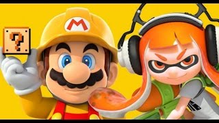 SUPER MARIO MAKER :  ¡ SPLATOON !