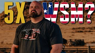 Can Brian Shaw Win a 5th World's Strongest Man Title?