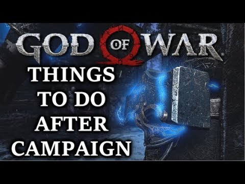 GOD OF WAR  What To Do After You Finish The Main Story? Full Guide!