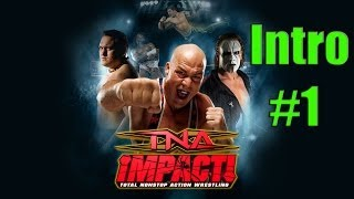 TNA Impact! Part 1 Introduction Training Walkthrough XBOX 360