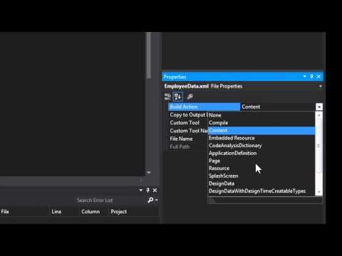 C# - Parse an XML file