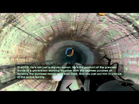 Portal 2 -The 4750m Fall