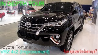 In Depth Tour Toyota Fortuner Tipe VRZ 4x2 Improvement Tahun 2018 (Indonesia)