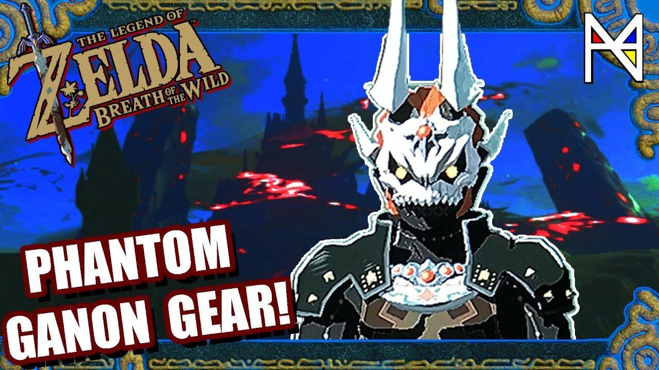 How To Find Phantom Ganon Armor Zelda Breath Of The Wild