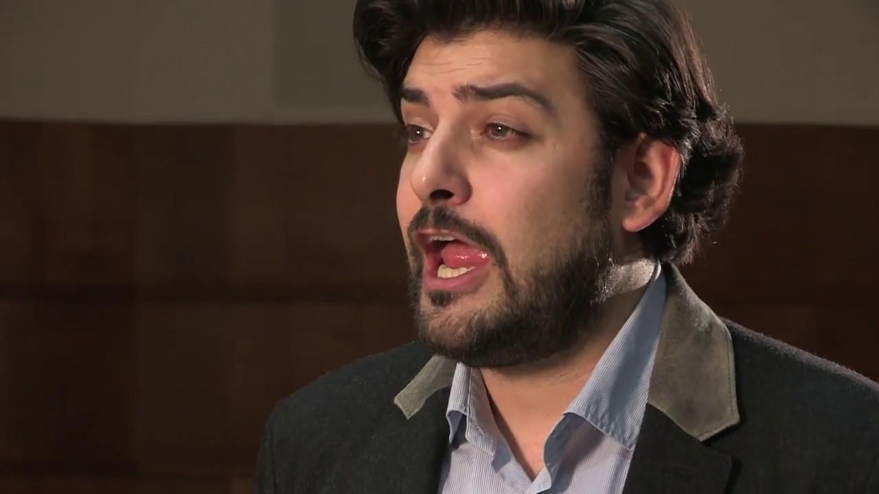 Ilker Arcayürek sings 'Der Lindenbaum' from Schubert's Winterreise D.911 - BBC New Generation Artist