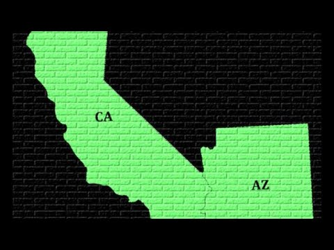 Traveling from CA to AZ USA