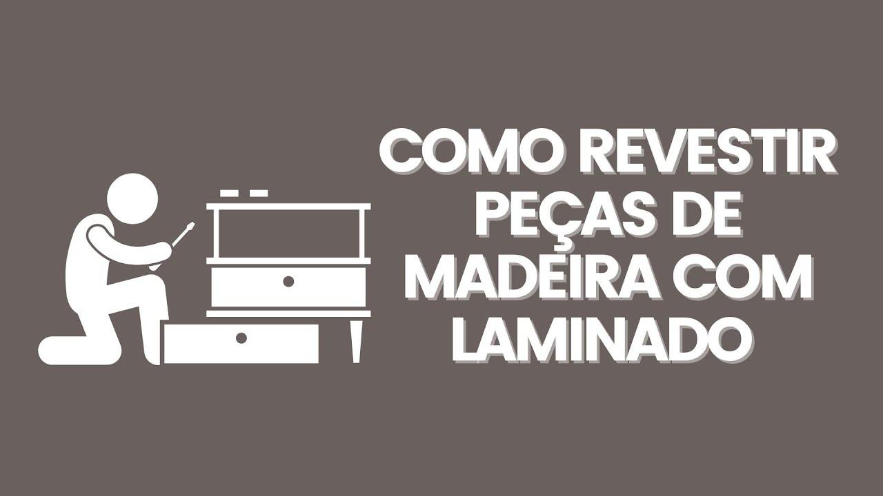 Aparador Buffet Estreito ~ Como Revestir Peças de Madeira com Laminado de PVC YouTube
