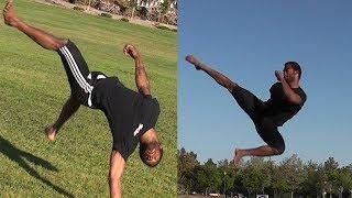 10 Quick Martial Arts Kicks and Flips