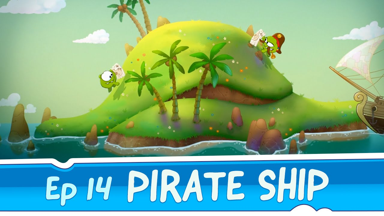 om nom stories pirate ship episode 14 cut the time travel