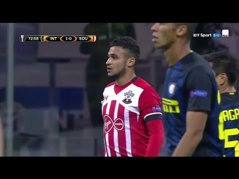 Sofiane Boufal (debut) vs Inter 20/10/16 HD