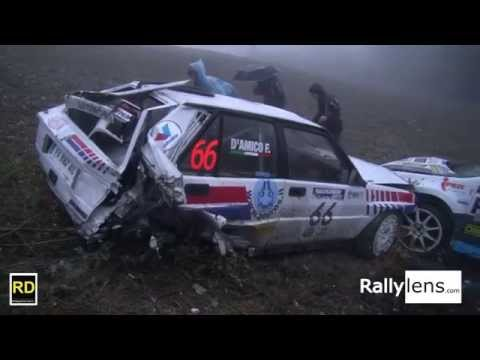 Rallylegend 2015 CRASH Ford WRC Vs Lancia