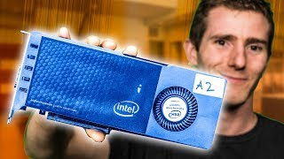 WE GOT INTEL'S PROTOTYPE GRAPHICS CARD!! thumbnail