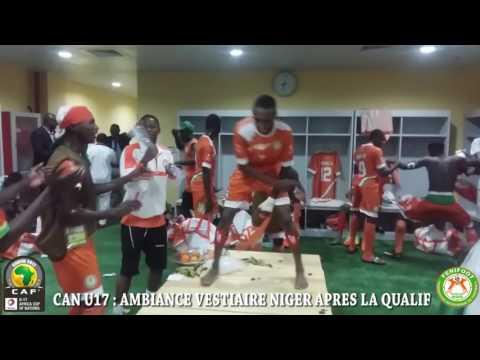 CAN U17: VIVEZ L'AMBIANCE DANS LES VESTIAIRES DU NIGER APRES LA QUALIFICATION